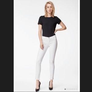 J. Brand Skinny Leg White Jeans 26 EUC